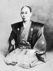 梅田雲浜肖像